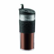 Bodum Insulated Plastic Travel Mug, 0.45-Litre, 440ml, Black