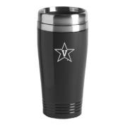 Vanderbilt University - 470ml Travel Mug Tumbler - Black