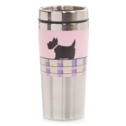 Hues & Brews 410ml Scotty Double Wall Stainless Steel Travel Tumbler - BPA Free, Pink