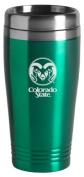 Colorado State University - 470ml Travel Mug Tumbler - Green