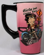 Fun Betty Boop Travel Mug