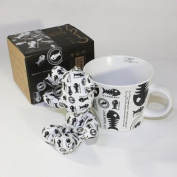 SYNC - [Fish Bones] Stuffed Bear Mug
