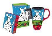 Woof! Latte Travel Mug