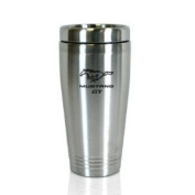 Ford Mustang GT Brushed Stainless Steel Tumbler