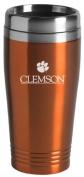 Clemson University - 470ml Travel Mug Tumbler - Orange