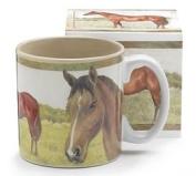 Brown Horse Head 380ml Coffee Tea Mug- Kitchen Gift