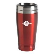 San Diego State University - 470ml Travel Mug Tumbler - Red
