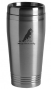 16-ounce Stainless Travel Mug - I Love My Siberian Husky