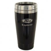 Ford Explorer Black Travel Mug