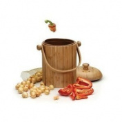 Good Ideas PAIL-BOO Compost Pail - Bamboo