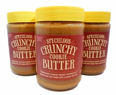 Trader Joe's Crunchy Cookie Butter (3 Bottles)