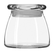 4oz Clear Libbey Vibe Jar with Pop Top Lid