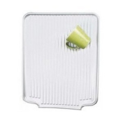 Better Houseware 1480.9 Large Dish Drainer Board, Frosted
