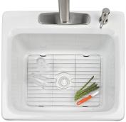 Better Houseware Medium Sink Protector, Stainless Steel