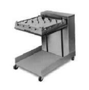 Lowerator Open Mobile Cantilever Tray Dispenser for 25.4cm x 50.8cm Tray