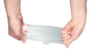 Silikomart Coverflex Reusable Silicone Food Covers, Small/Medium/Large/X-Large, Set of 4