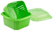 Hutzler 7.6cm -1 Berry Box, Green