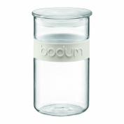 Bodum Presso 1.0 Litre 1010ml Storage Jar, Off White