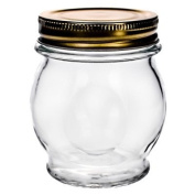 Global Amici Z7AB152S6R Orto Canning Jars with Lids, 330ml, Set of 6