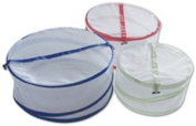 Ming's Mark FC-68102 Collapsible Mesh Food Covers - 3 Per Set