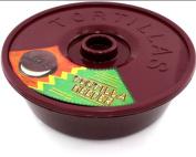 Tortilla Container Keeper Microwave Warmer 20.3cm Round Pita Taco Warm Flatbread New