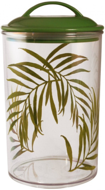 Corelle Coordinates Canister, Bamboo Leaf, Large