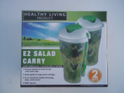 Salad Container Set With Sporks