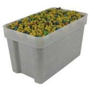 Value Series H1810600 Value Series Food Storage Container - Square, 17l. Capacity