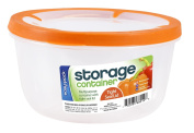 Easy Pack Round Plastic Container, 1920ml