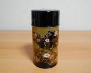 Kouetsu Japanese Green Tea Metal Tin [ Black ]