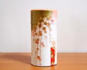 "Kaori No Uta ""Song of Aromas"" Japanese Green Tea Tin [ Pink ]"