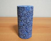 Aizome Blue Japanese Tea Storage Tin Type 4