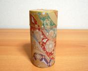 Mizunishiki Japanese Green Tea Metal Tin [ Red ]