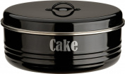 Typhoon Black Cake Tin, 4.3l Capacity