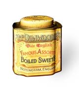 Mr Dinwoodie's Boiled Sweets Tin - Retro Advertising Kitchen Storage Tin