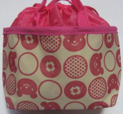 Japanese Thermal Lunch Box Bag #3540 Red