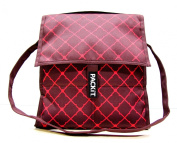 PackIt Freezable Social Cooler, Viceroy, Brown and Pink