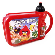 Angry Birds Lunch Box & Water Bottle Set