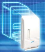 NEW - KLEENEX SLIMFOLD Towel Dispenser, 8 7/8 x 2 3/4 x 14 3/8, White - 6904