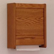 Wooden Mallet WCT1 Oak Wall Mounted Paper Towell Dispenser in Medium Oak from ABC Office