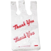 1000ct Large T-shirts Carry-out Thank You Bags 29.2cm X 15.9cm X 53.3cm 13micron .51mil Plastic Grocery Thank You