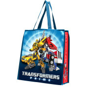 Vandor 41073 Transformers Prime Recycled Shopper Tote, Large, Multicoloured