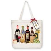 Line of Wine Tote Bag