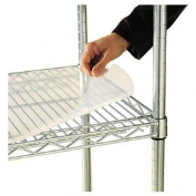 Alera SW59SL3618 - Shelf Liners For Wire Shelving, 36w x 18d, Clear Plastic, 4/Pack