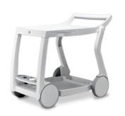 Nardi Galileo Rolling Beverage Cart
