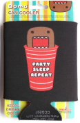 Domo-kun Can Cooler Party Sleep Repeat Koozie Red Solo Cup