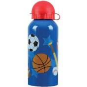 Stephen Joseph Stainless Steel Water Bottle, Sports