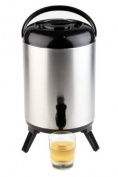 APS Paderno World Cuisine 9.5l Insulated Stainless Steel Beverage Dispenser