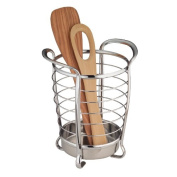 Axis Chrome Round Utensil Holder