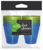 Cook's Kitchen Shot Glasses, 18-Pack